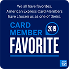 2017 Card Member Favorite